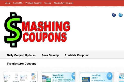 Smashing Coupons ~ Printable Grocery (Coupons Com Printable)