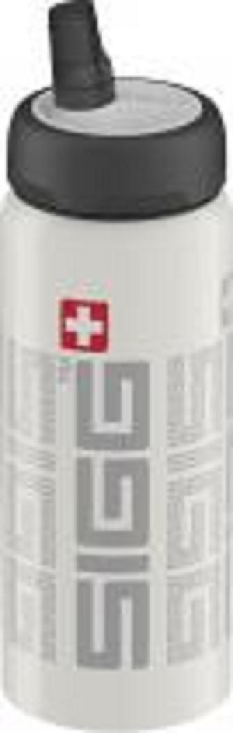 Sigg Trinkflasche Bottle Natnificant, weiß, 0,6l, 8363.10