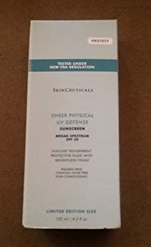 Skinceuticals LARGE Sheer Physical Uv Defense SPF 50 Broad-spectrum 4.2oz