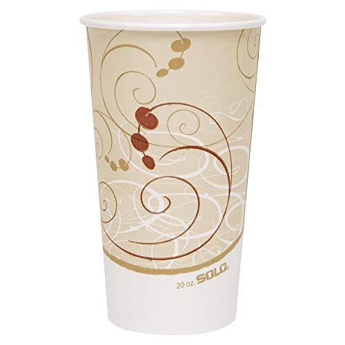 Cup Symphony Hot Paper (Solo 420SM-J8000 20 oz Symphony SSP Paper Hot Cup (Case of 600))