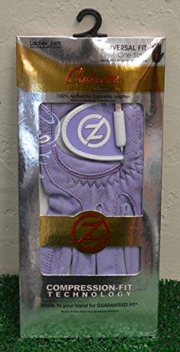 (Zero Friction Cabretta Elite Ladies' LH Golf Glove - One Size - Lavender -)