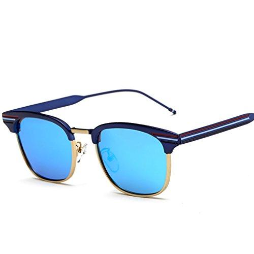 1 Blue de Simple Lunettes personnalité Soleil Voir Lunettes la et Masculine Couleur Black3 Lunettes UV Lunette de de de polarisées Soleil lentille des gqfBww