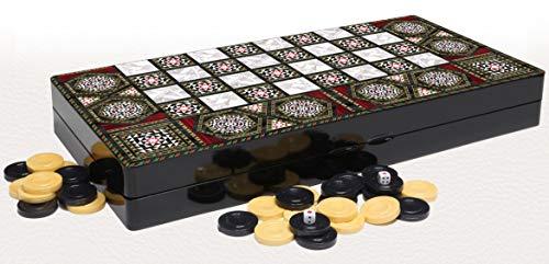 The 19'' Magic Star Backgammon Turkish Premium Board Game ()