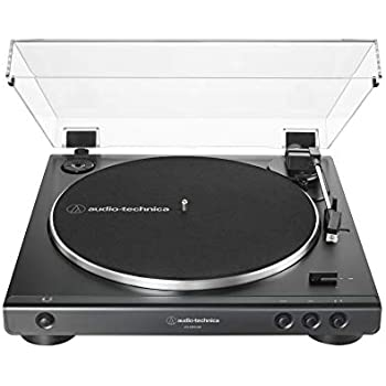 Amazon.com: Audio-Technica AT-LP60BK-USB Fully Automatic ...