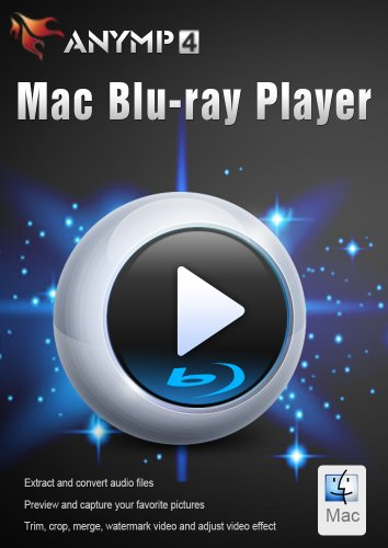 AnyMP4 Mac Blu-ray Player, 1-User 1-Year (Mpeg Movie Files)