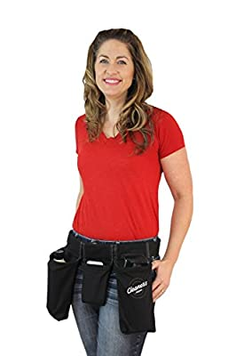 Cleaner's Helper PROFESSIONAL Tool Belt - Janitorial, Custodial, Maid, Housekeeping, Carpet Cleaning, Cleaning - Work Faster and Efficiently, Reduce Labor Costs, Make More Money!
