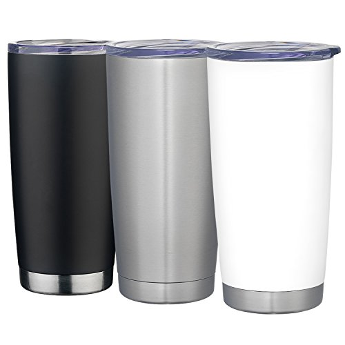 Maars Polar Pro Double Wall Vacuum Insulated Stainless Steel 20 oz. Coffee Travel Tumbler | 6 Pack by Maars® Drinkware