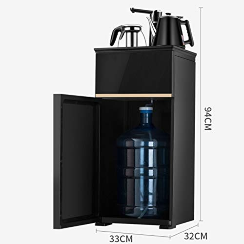 Hot Water Dispensers Household Vertical hot Water Dispenser Bedroom hot and Cold Smart hot Water Dispenser Energy-Saving New Eye-catching Water Dispenser (Color : Black, Size : 33cm32cm94cm) by Combination Water Boilers Warmers (Image #6)
