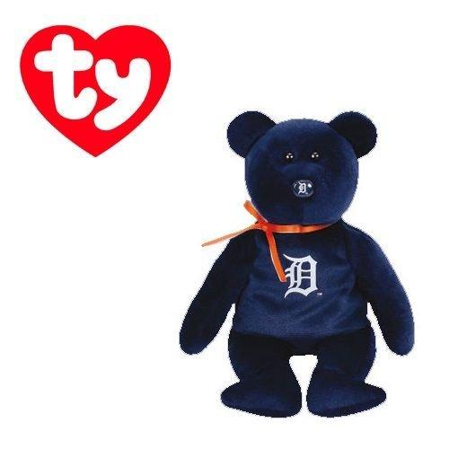Ty Detroit Tigers MLB Beanie Baby - Teddy Bear (41710)