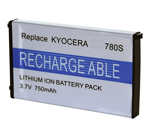 Digital Replacement Camera and Camcorder Battery for Kyocera BP780S, Finecam ()