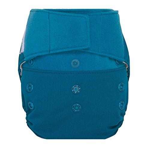 GroVia Reusable Hybrid Baby Cloth Diaper Hook & Loop Shell (Abalone)