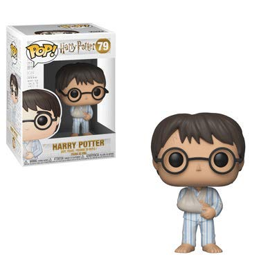 Funko POP! Harry Potter Wave 5 - Harry Potter in PJs Bundled With PopShield Pop Box Protector: Toys & Games