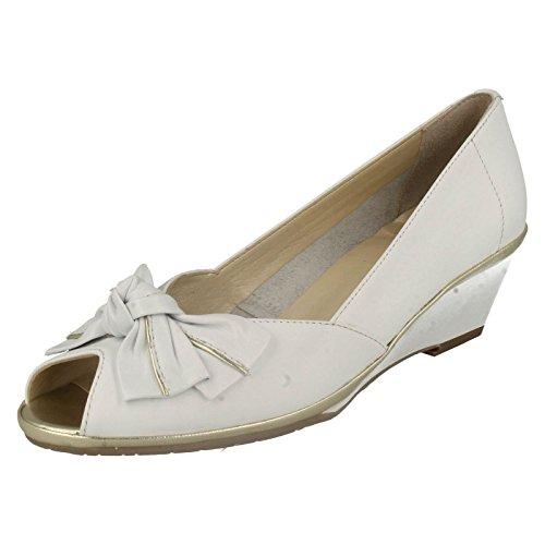 Van Dal Florida II, Damen Sandalen Weiß / Gold