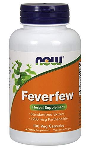 Now Foods - Feverfew 400 mg 100 caps