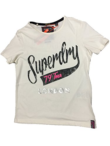 Camiseta Tee Tour Mujer Boxy Corta Para Superdry Manga q6BwtHxHn