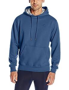 Champion Men's Powerblend Pullover Hoodie, Sea Bottom Blue, XX-Large