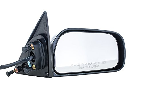 Door Camry Right Toyota Mirror (Dependable Direct Right Passenger Side Unpainted Non-Heated Non-Folding Door Mirror for USA Built Toyota Camry (1997 1998 1999 2000 2001))