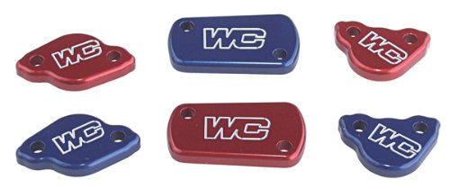 Works Connection Rear Master Cylinder Cover - Red 21-705 (RED)
