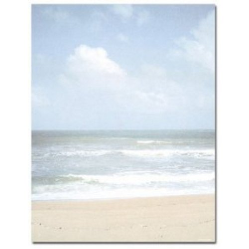 Beach Shoreline Letterhead - 160 Sheets
