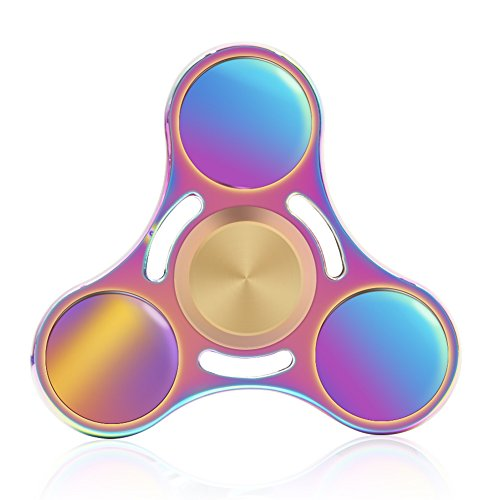 MEISUS Fidget Spinner Toy Ultra Durable Stainless Steel Bearing High Speed 5-7 Min Spins Precision Metal Hand spinner EDC ADHD Focus Anxiety Stress Relief Boredom Killing Time Toys