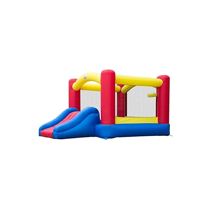 417r7E7dGpL ✅Estructura hinchable modelo castillo ✅Castillos inflables niños de 3 a 10 años ✅Castillo inflable sólo para uso privado