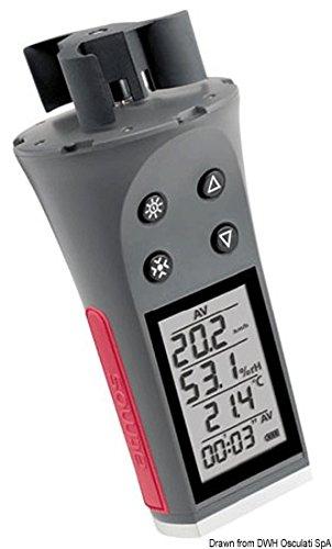 Anemómetro con Termómetro y Higrómetro digital Skywatch (Atmos)