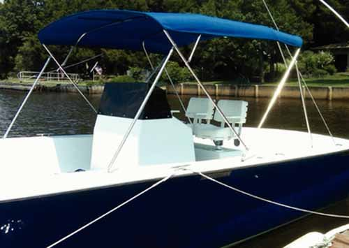 Carver Bimini Top Frame (Carver Industries 55403 3 Bow Top Frame-73 Inch-78In-Bimini Made by Carver)