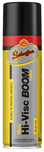 Schaeffer Manufacturing Co. 0319-011S Moly Hi-Visc Boom Lube Spray, 14 oz. Aerosol Can (Cranes Boom Telescopic)