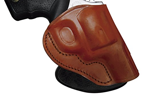 Tagua PD3R-902 S&W L Frame 2-1/2 Brown/Right Hand Rotating Open Top Paddle Holster