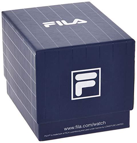 Fila Mens Quartz Watch with Silicone Strap 38-181-002