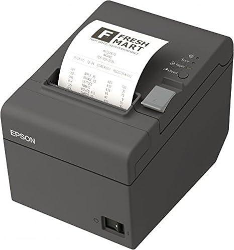 Epson Impresora térmica TM-T20II Ethernet/LAN Conector y USB ...