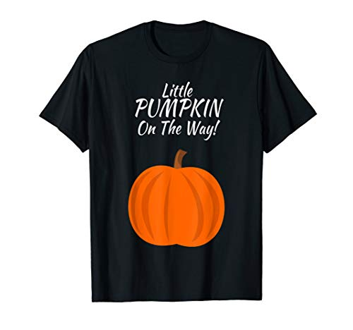 Halloween Pregnancy Announcement Shirt Pumpkin On The Way]()