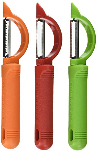 Messermeister 3-Piece Pro-Touch Peeler Trio Set