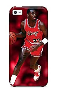 Snap-on Case Designed For Iphone 5c- Nba Michael Jordan Basketball
