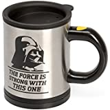 Star Wars Darth Vader Self Stirring and Spinning Mug - Mix Your Drink with the Force