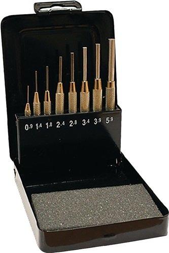 Promat Splintentreibersatz 8tlg. 0, 9-5, 9mm mit Fü hrungshü lse i. Metallkassette