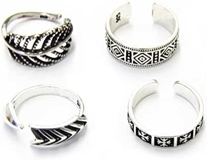 Vintage retro style ring for women made of s925 sterling silver