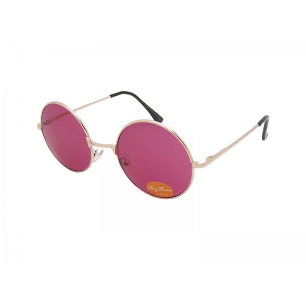 88ee1253b00f6d Lunettes de soleil Chic-Net unisexe lunettes rondes hippie John Lennon  teinté 400UV noir violet  Amazon.fr  Vêtements et accessoires