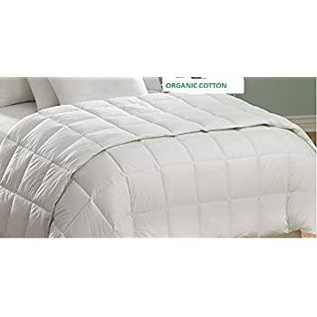 Amazon Com Cottonloft Cotton Filled Medium Warmth Comforter Full