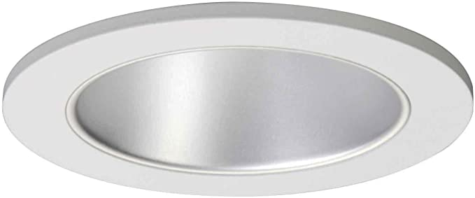5 In White EATON HALO Recessed 5121WH Shallow Full Cone Reflector Self-Flange Ring