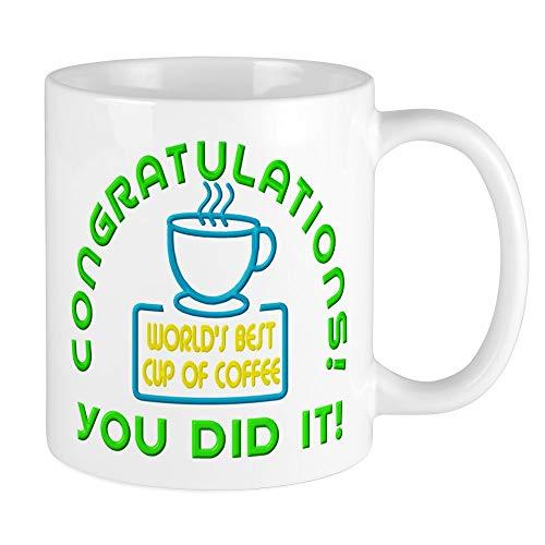 CafePress Congratulations You Did It Elf Classic Mugs Unique Coffee Mug, Coffee Cup