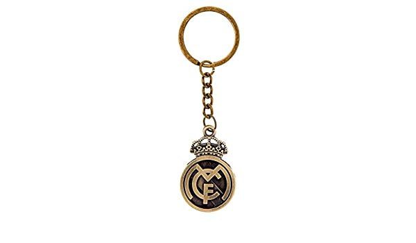 Club de fútbol Real Madrid llavero de metal de bronce, 2 ...