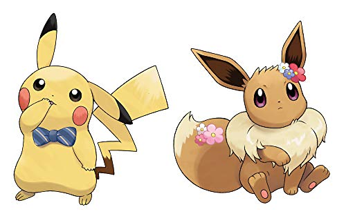 417rBSCyT7L - Pokemon: Let's Go, Eevee!