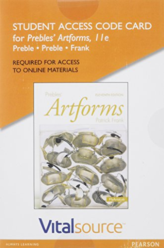Artform the best amazon price in savemoney vitalsource edition for prebles artforms access card 11th edition fandeluxe Images