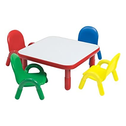 Amazon.com: BaseLine Toddler Table & Chair Set: Toys & Games