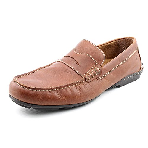 Rockport Men's Chaden Penny Driver Loafer,Tan,10 W US (Penny Loafers Rockport)