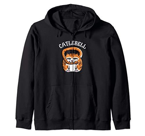 Catlebell Zip Hoodie (Formen Der Gesichter)