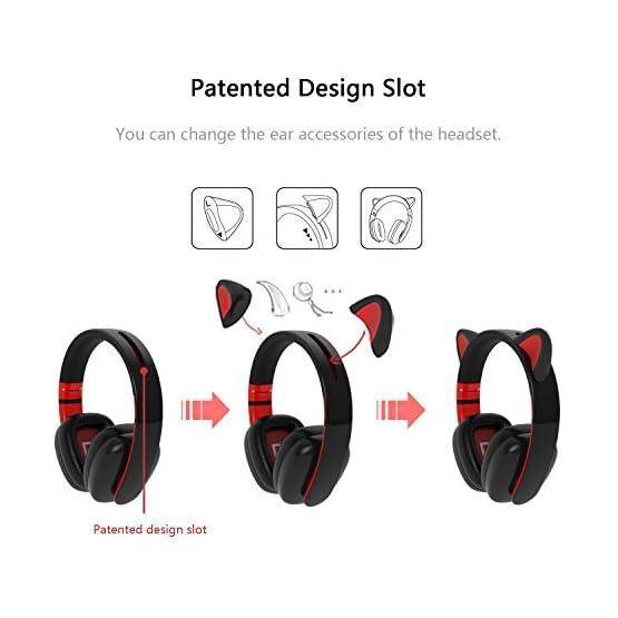 Cat Headphones   Censi Bluetooth   Kawaii Headphones 7