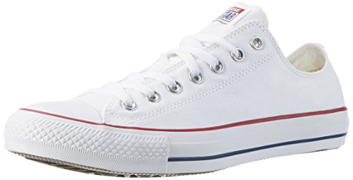 Converse Men's Chuck Taylor All Star Low Top Sneaker Optical White 6.5 M