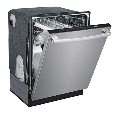SPT SD-6502SS: Energy Star 24 w/Smart Wash System & Heated Drying – Stainless Built-in Dishwasher, Steel and Black
